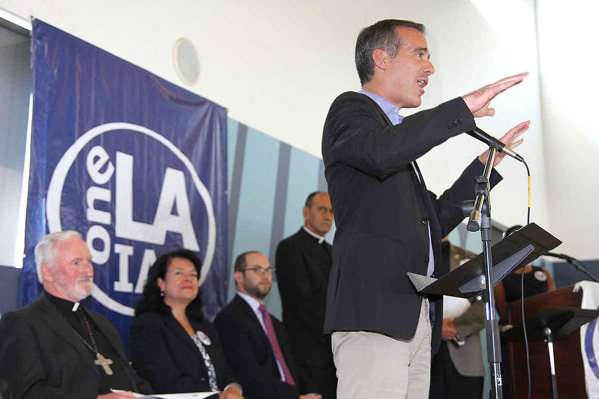 One LA meeting with Mayor Garcetti