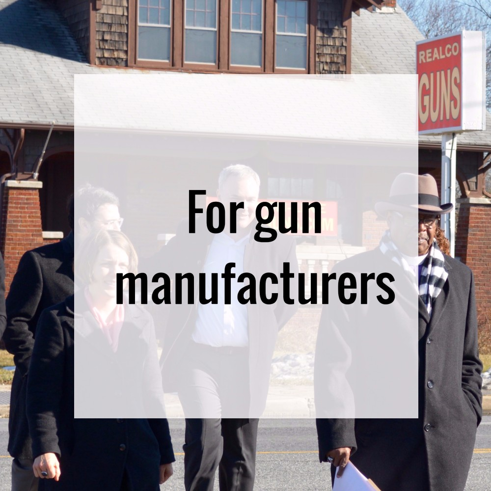 Improving gun safety: working with gun manufacturers